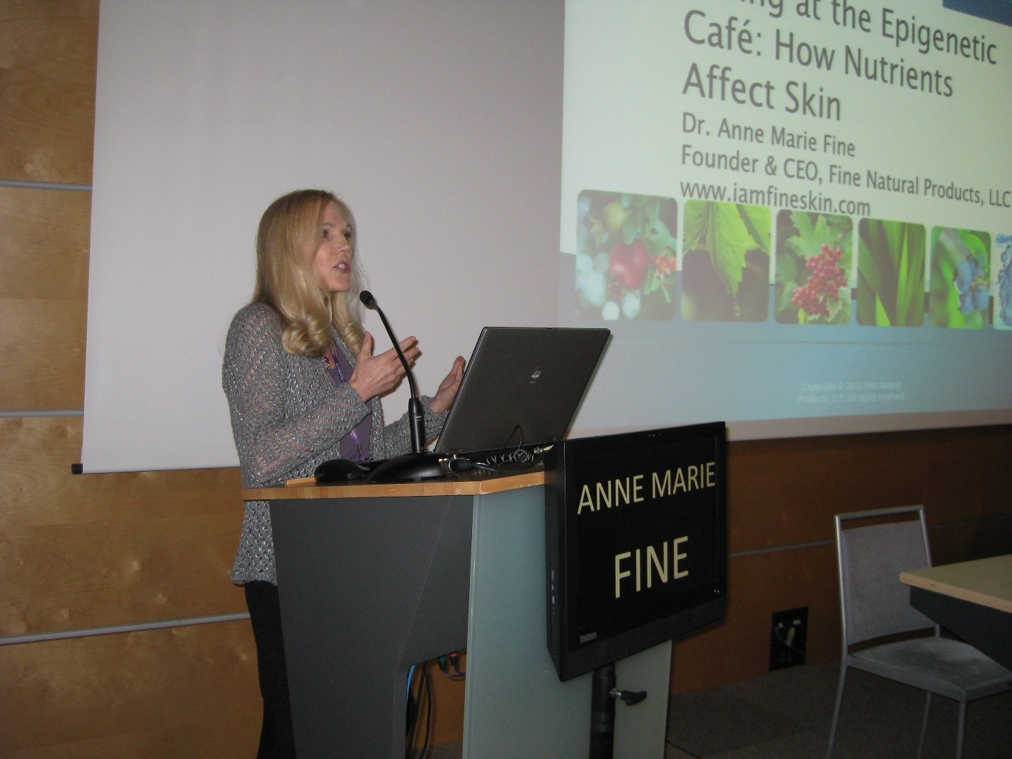Dr. Anne Marie Fine naturopathic doctor speaking engagements